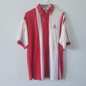 Vtg Bowman Sportswear OSU short sleeve polo XL